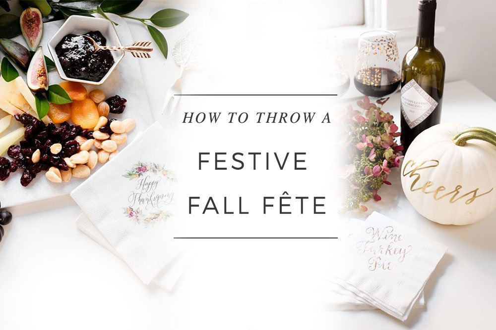 How to Throw a Festive a Fall Fête