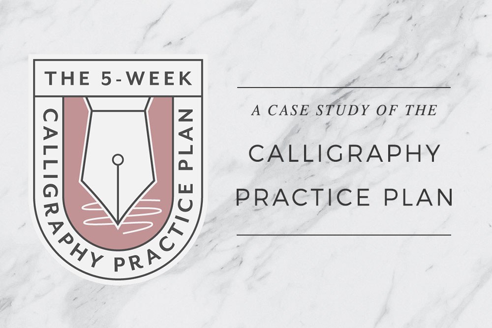 A Case Study of the Calligraphy Practice Plan